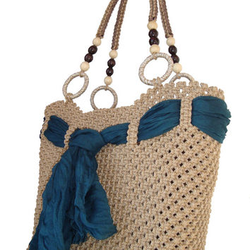 Handmade, macrame fashion handmade  Bag