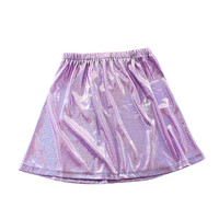 Lavender Holographic Skater Skirt (SOLD OUT)