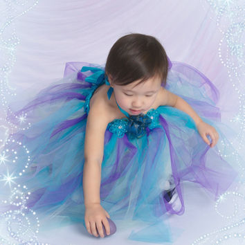 Spring tutu dress Custom made for infants toddlers and little girls