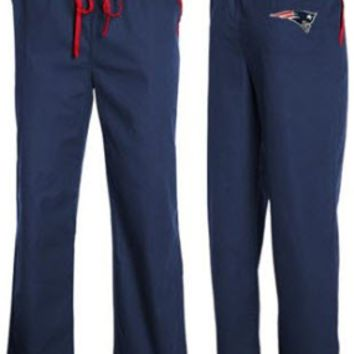 New England Patriots Scrubs Pants and NFL medical scrubs