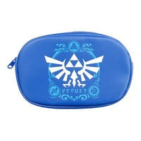 Blue Legend of Zelda: A Link Between Worlds Nintendo 3DS Pouch