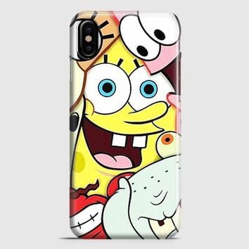 Spongebob iPhone X Case
