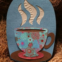 Coffee lover Greeting Card - Gift Card Money Holder
