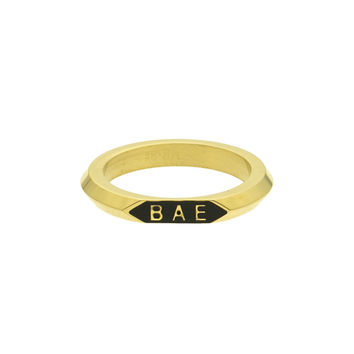 *Mister Bae Ring - Gold