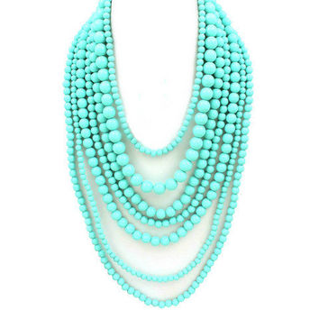 Pree Brulee - Turquoise Fine Arts Necklace