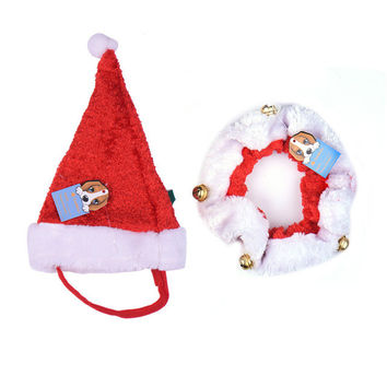 Christmas Party Headwear Dog Clothes & Cat Clothes
