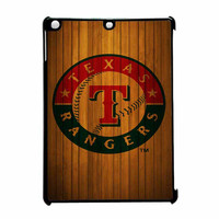 Texas Rangers Wood Pattern iPad Air Case
