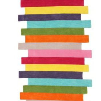 Rugs USA Keno Contempo Stripes Multi Rug