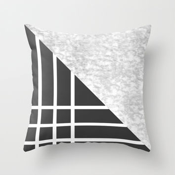 Mix Throw Pillow by MJ Mor