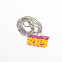 3OH!3 - 3oh!3 Yellow and Pink Logo Necklace