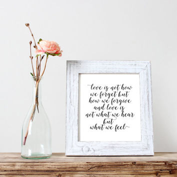 "inspirational print""love is""motivational quote,best words,word art,gif idea,typography art print,instant,dorm room decor,love is answer"