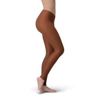 Solid Dark Mocha Buttery Soft Leggings