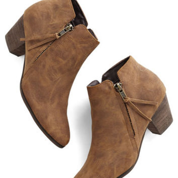 Chelsea Crew Here, There, and Everywhere Bootie in Taupe