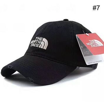 THE NORTH FACE Men's & Women's Outdoor Couples Three-dimensional Embroidered Visor F-XMCP-YC #7