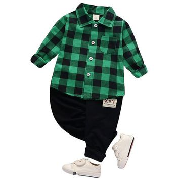 Toddler Boy Dress Clothes Winter Outfit  For Baby Boy