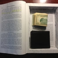 Authentic Law Book with Hidden Compartment/Safe by LegalCreatives