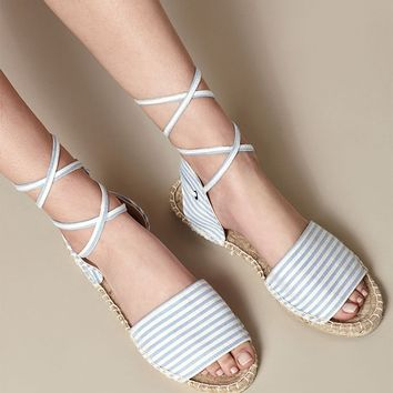 Kirra Lace-Up Espadrille Sandals at PacSun.com