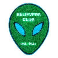 Believers Club Large Chenille Patch