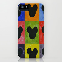 Mickey iPhone & iPod Case by Sierra Christy Art