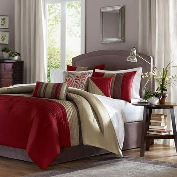 Tradewinds 7 Pieces Comforter Set - Bedding | Madison Park