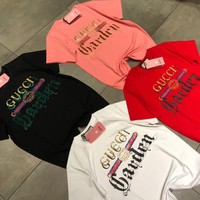 gucci garden collection t shirt