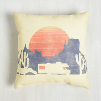 Americana RV There Yet? Pillow by ModCloth