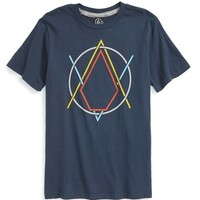 Boy's Volcom 'Creak In' Graphic T-Shirt,