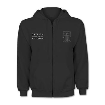 Catfish & The Bottlemen: Black Zip Hood