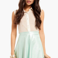 Cut It Out Skater Skirt $35