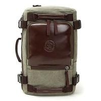 Men's Canvas Outdoor Shoulder Bag or Handbags Large Capacity Many Uses Backpack