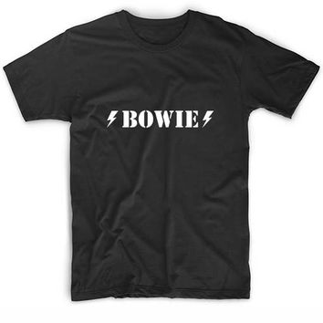 David Bowie T Shirts Custom Tees New Years Eve Shirt and Tie