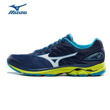 MIZUNO Men WAVE RIDER 20 Professional Jogging Running Shoes Breathable Sports Shoes Cushion Sneakers J1GC170307 XYP582