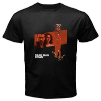 dead man down black T-shirt Size S, M, L, XL, 2XL, 3XL, 4XL, and 5XL