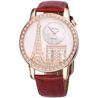 Luxury Tower Leather Watch