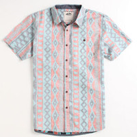 Vans Charford Reinvent Red Woven Mens Shirt