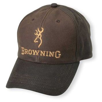 Browning Youth Durawax Brown Hat