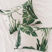 Expressive Palms Jersey Sham Set | Urban Outfitters