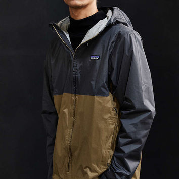 Patagonia Torrentshell Colorblock Full Zip Jacket - Urban Outfitters