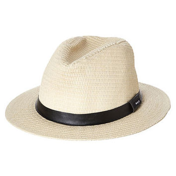 HURLEY SAHARA STRAW HAT - NATURAL