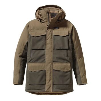 Patagonia Men's Thunder Cloud Down Parka | Alpha Green