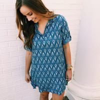 IKAT Believe It's Almost Summer Dress