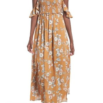 ASTR the Label Gauze Maxi Dress | Nordstrom