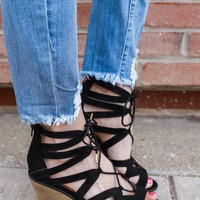 Style Crush Heeled Sandal - Black