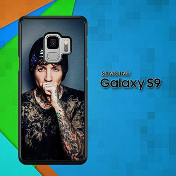 Oliver Sykes Bring Me The Horizon And Signature F0543 Samsung Galaxy S9 Case