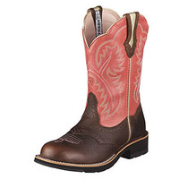 Ariat Showbaby Women's Boots - Brown Oiled Rowdy
