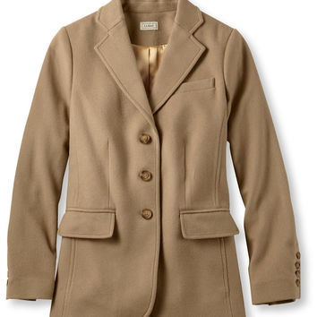 Wool/Cashmere Jacket: Blazers | Free Shipping at L.L.Bean