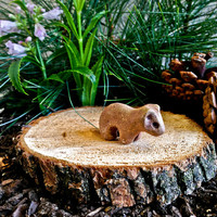 Fairy Garden Bear Figurine / Fairy Garden Supplies / Miniature Bear Sculpture / Unique Gift / Guardian