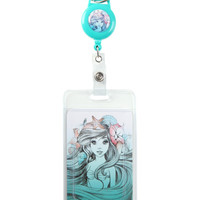 Disney The Little Mermaid Ariel Retractable Lanyard