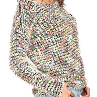 Multi Color Knitted Sweater