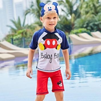 Sexy Kids Swimsuits Child Swimwear Bikini For Boys 2018 Children Boy Cuhk Tongbaobao 5815 Animal Polyester Sierra Surfer